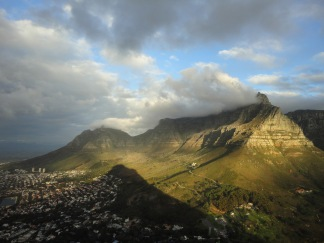 Lion's Head at sunset, Hoerikwaggo Trail