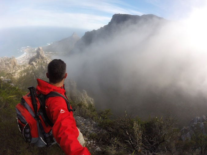 Hiking Blind Gully (Table Mountain)