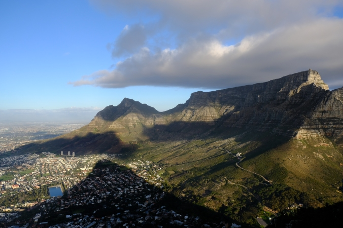 Table Mountain in the late afternoon