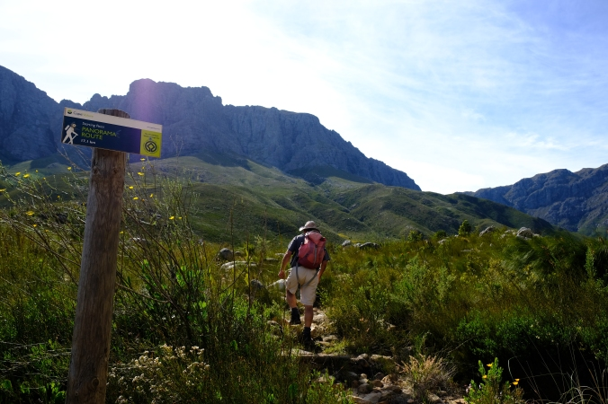 Hiking at Jonkershoek Nature Reserve