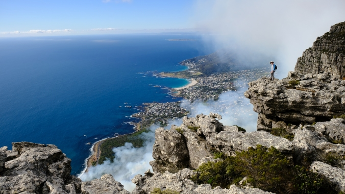 Table Mountain - 12 Apostles Fire