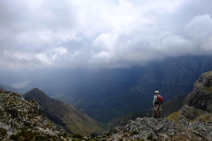 Hiking Perdekop with pro mountain guide Justin Hawthorne