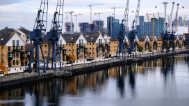 Royal Victoria Dock, London