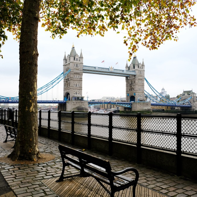 Views of Tower Bridge, London