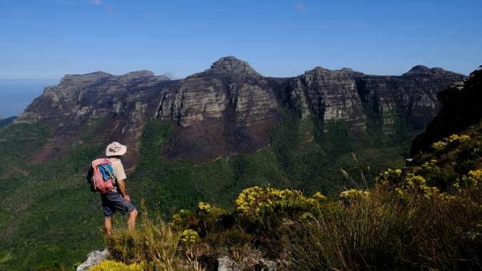 12 Apostles Fire - Table Mountain - October 2017 - Justin Hawthorne - Fynbos and Forest Divide